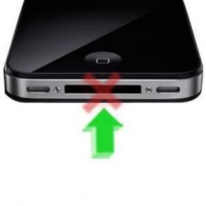 Reparar Conector de Carga iphone 4