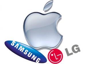 pantalla samsung lg apple