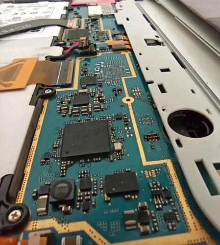 Placa electronica reparada